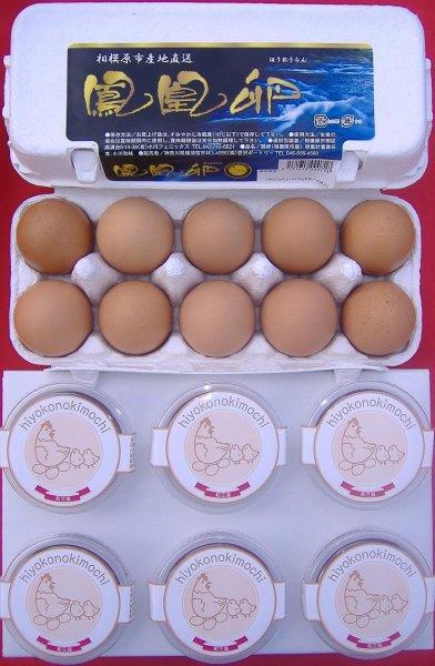 画像1: プランA【和三盆プリン6個と鳳凰卵20個】 (1)